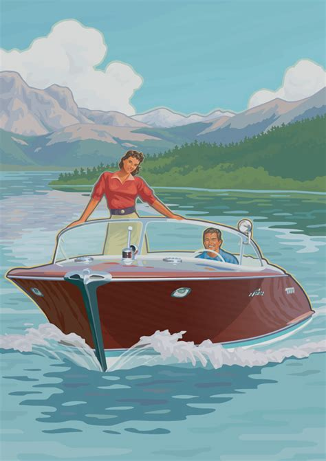 y boat insurance hagerty classic boats on behance