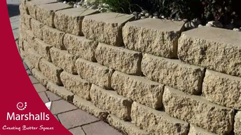 How To Build A Garden Wall Youtube How To Build A Garden Wall On A Slope
