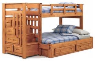 Modern Bunk Beds With Stairs Ii Bunk Bed With Stairs Modern Beds By Hayneedle