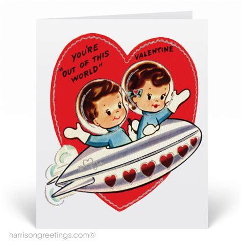 vintage valentines day card 1950s vintage cards val122 harrison