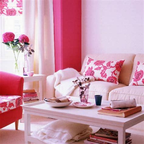 hot pink living room housetohome co uk chelsea flower show betta living
