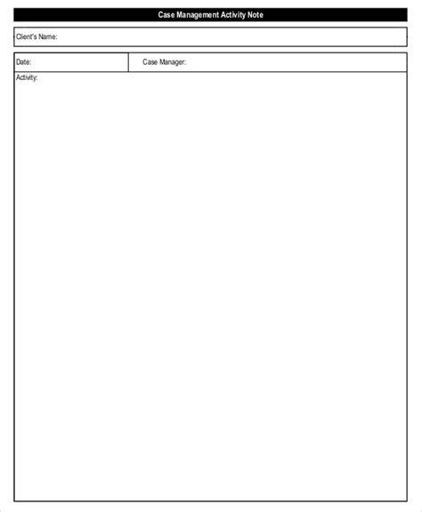 21 Note Template Free Premium Templates Management Notes Template
