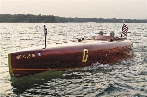 parker boats wood build a classic wooden speedboat