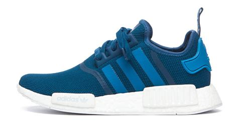 adidas nmd blue white sole collector
