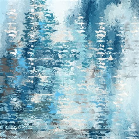 blue and white painting blue and white abstract painting by lourry legarde