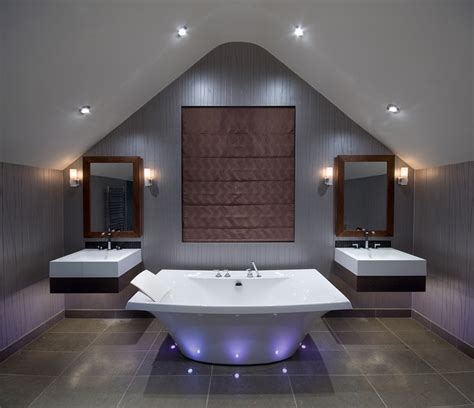 Luxury Bathroom Lighting Luxury Bathroom Contemporary Bathroom By Future Light Design