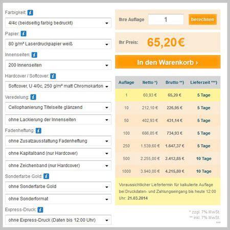 Online Drucken Kosten by Abizeitung Und Abibuch Kalkulieren Und G 252 Nstig Drucken