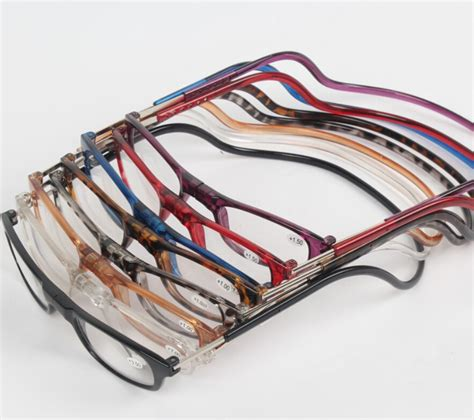 wholesale adjustable front connect readers unisex magnetic