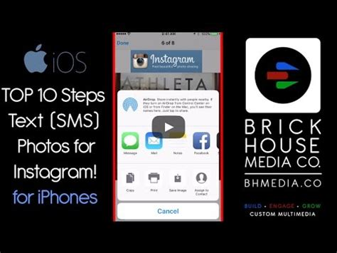 instagram gallery tutorial top 10 steps to text sms photos for instagram iphone