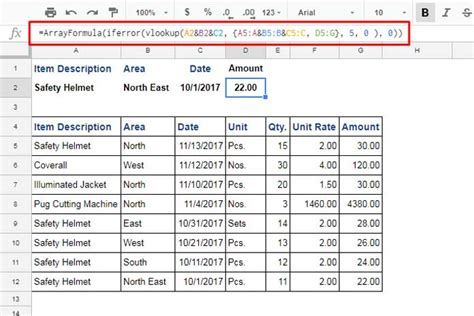 vlookup tutorial google sheets how to use vlookup with multiple criteria in google sheets