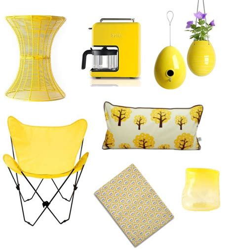 yellow home decor shopping for popsugar home