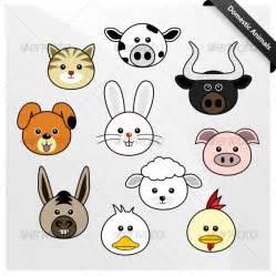 domestic animal cute cartoon graphicriver