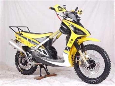 Pelindung Stang Motor Cross oracle modification concept mio road