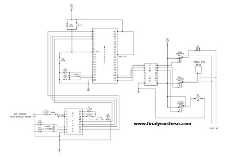 home automation using gsm with circuit diagram