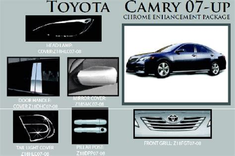 Toyota Camry Aftermarket Accessories 2011 Toyota Camry Custom Accessories
