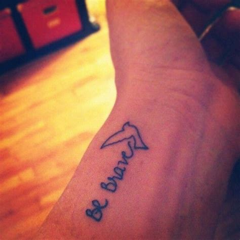 be brave tattoo 25 best ideas about be brave on brave