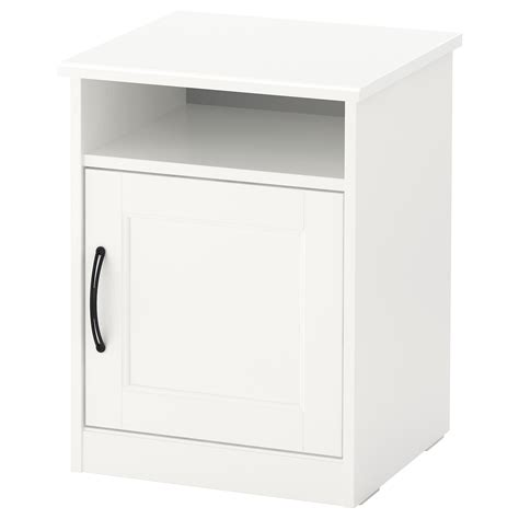 Table De Nuit Blanc by Songesand Table De Chevet Blanc 42 X 40 Cm Ikea