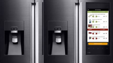 samsung family hub smartest refrigerator all features explained ces 2016