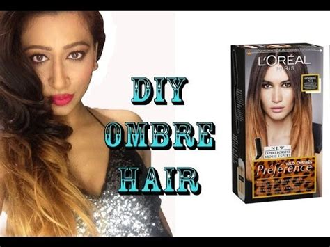 Diy Ombre A No Kit How To For Subtle Seamless Colour | diy ombre hair colour tutorial l oreal preference wild