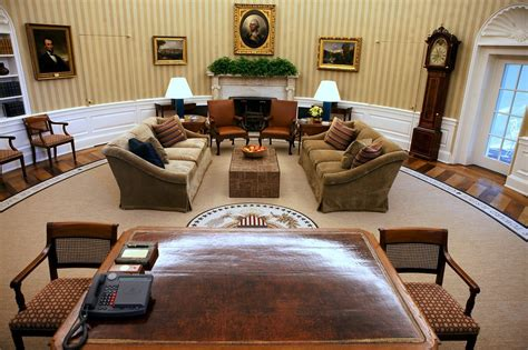 white house oval office white house oval office is redecorated the new york times