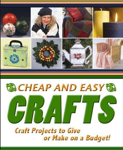 cheap and easy crafts crafts hobbies cheap and easy crafts craft projects to