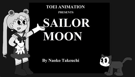 Sa 1413 B Black White a black and white sailor moon anime by marcospower1996 on deviantart