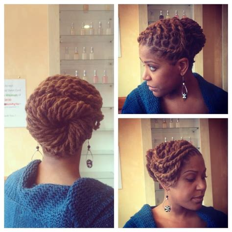 Dreadlock Pin Up Hairstyles by Two Strand Twists And A Pin Up Locs Dreads