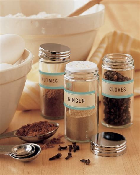 martha stewart printable jar labels spice displays martha stewart
