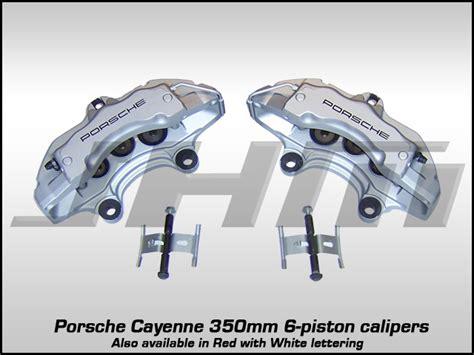 front calipers porsche cayenne brembo 6 piston 350mm