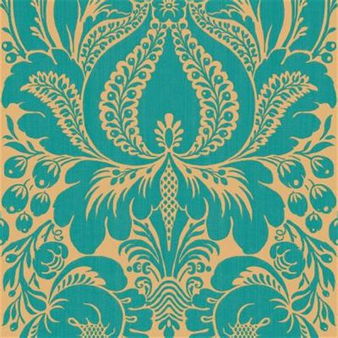 the wallpaper company 56 sq ft peacock large scale