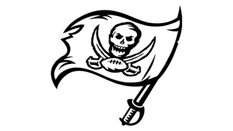 how to draw the ta bay buccaneers logo youtube