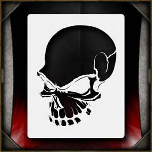 skull templates for airbrushing 106 best airbrush images on stencil templates