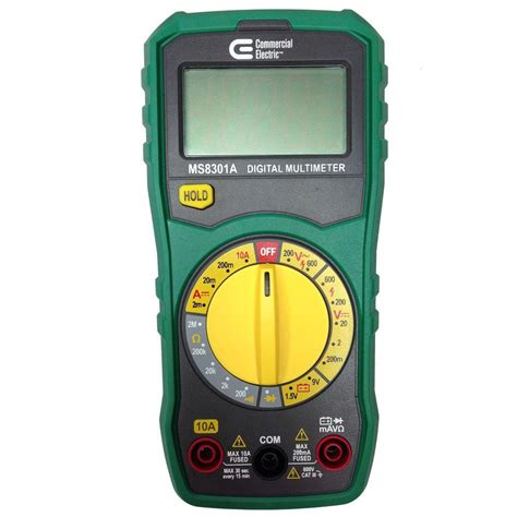 Multimeter Manual commercial electric manual ranging digital multi meter