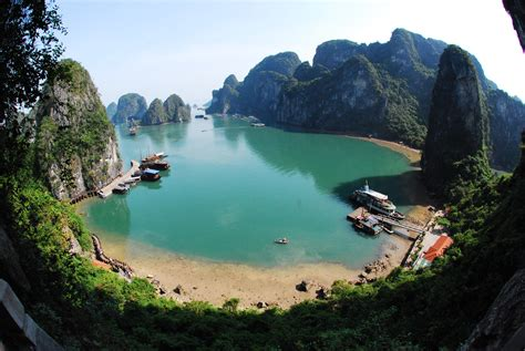 cat island cat ba island beautiful scenery and interesting