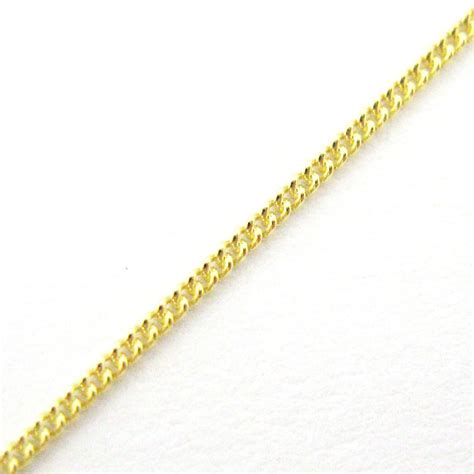 sterling silver tiny curb chain by the foot