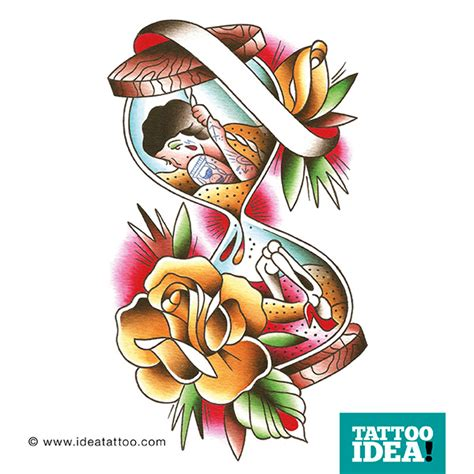 fiori traditional top photos clessidra images for tattoos