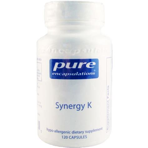 Synergy 7 Detox Reviews by Encapsulations Synergy K 120 Capsules The
