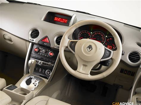 renault koleos 2015 interior renault koleos review and photos
