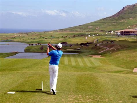 porto santo golf madeira golf porto santo golf course