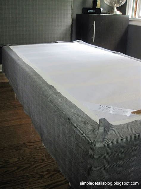 ikea box spring how to cover a boxspring with fabric using an ikea sultan