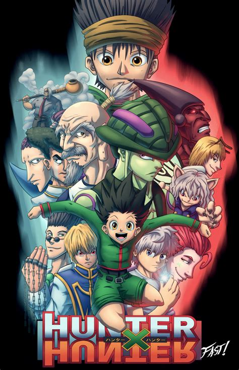 hunter x hunter new season 2015 hunter x hunter by kyle fast on deviantart