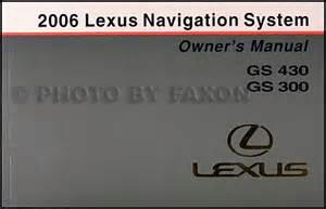 Lexus Gs Owners Manual 2006 Lexus Gs 300 430 Repair Shop Manual Original 5 Volume Set