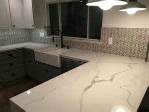 38 best calacatta quartz kitchen images on