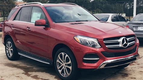 mercedes jeep 2016 red 2016 mercedes benz gle class gle 350 suv full review