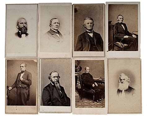 abraham lincoln cabinet 153 abraham lincoln s cabinet members cdvs lot 153