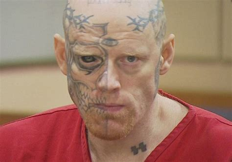 eye tattoo in prison police chief asks judge to consider man s tattoos in