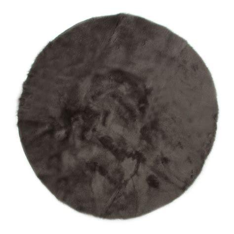 tappeto rotondo grigio tappeto rotondo grigio scuro grigio scuro pilepoil design