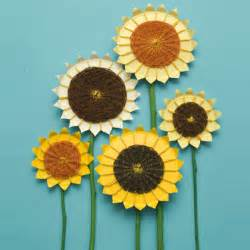 oh baby shower decor the blog diy idea paper sunflowers
