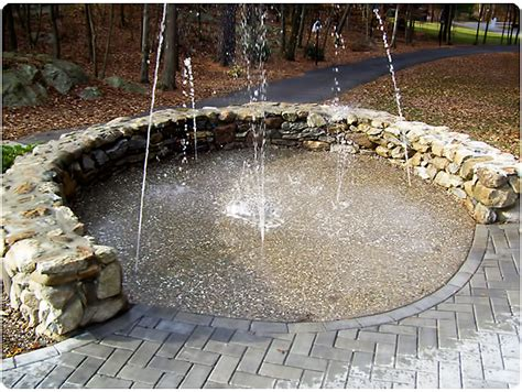 backyard splash pad desert outdoors on pinterest outdoor showers splash pad