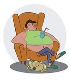 couch potato bong couch potato with his dog royalty free stock photos